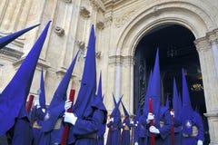 Semana Santa in Malag,Spain Royalty Free Stock Photography