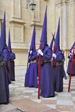 Semana Santa in Malaga Stock Image