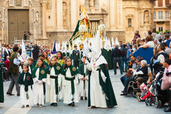 Semana Santa in Murcia Stock Images