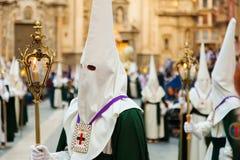 Semana Santa in Murcia Royalty Free Stock Image