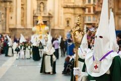 Semana Santa in Murcia. Royalty Free Stock Image