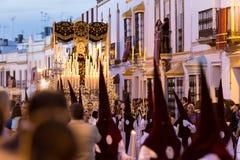 Semana santa Pascua Marchena SEVILLA, ESPAÑA fotos de archivo libres de regalías