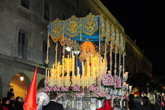 A Semana Santa na palma domingo Imagens de Stock