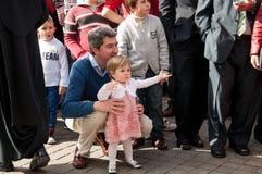 Semana Santa in Sevilla Royalty Free Stock Photo