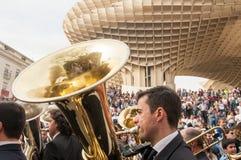 Semana Santa in Sevilla Stock Image