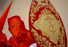 Semana Santa in Spain. Procession during the Semana Santa in Spain(this is the Holy week before Easter royalty free stock photos