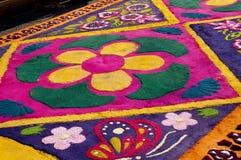 Semana Santa, tappeto floreale di Alfombra della La Immagine Stock Libera da Diritti