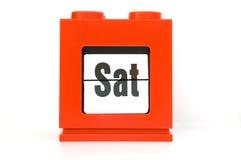 Semana, Sat. Imagen de archivo libre de regalías