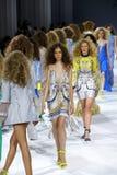39.a semana ucraniana de la moda en Kiev Fotografía de archivo