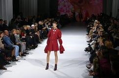 39.a semana ucraniana de la moda en Kiev Imágenes de archivo libres de regalías