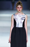 39.a semana ucraniana de la moda en Kiev Imagen de archivo