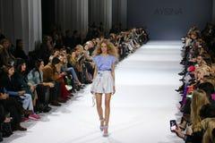 39.a semana ucraniana de la moda en Kiev Fotos de archivo
