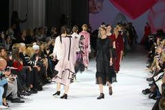 39.a semana ucraniana de la moda en Kyiv Foto de archivo