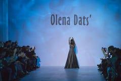 39.a semana ucraniana de la moda en Kyiv Fotos de archivo
