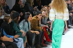 39.a semana ucraniana de la moda en Kyiv Imágenes de archivo libres de regalías