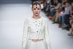 38.a semana ucraniana de la moda en Kyiv, Ucrania Imágenes de archivo libres de regalías