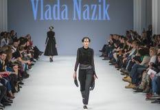 38.a semana ucraniana de la moda en Kyiv, Ucrania Imagenes de archivo