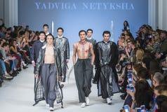 38.a semana ucraniana de la moda en Kyiv, Ucrania Fotografía de archivo libre de regalías
