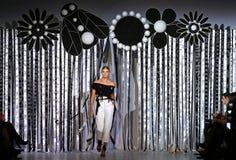 39.a semana ucraniana de la moda en Kyiv, Ucrania Foto de archivo libre de regalías