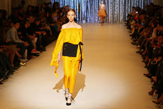 39.a semana ucraniana de la moda en Kyiv, Ucrania Fotografía de archivo libre de regalías