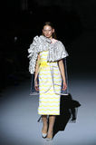 39.a semana ucraniana de la moda en Kyiv, Ucrania Imagen de archivo libre de regalías