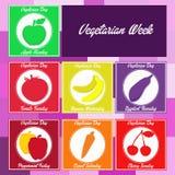 Semana vegetariana Imagen de archivo libre de regalías