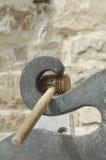 Semantron hammer Royalty Free Stock Photo