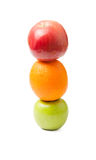 Semaphore of fruits Royalty Free Stock Photo