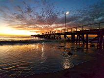 Semaphore Jetty Sunset Royalty Free Stock Photo