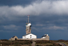 Lighouse of pointe du raz Stock Image