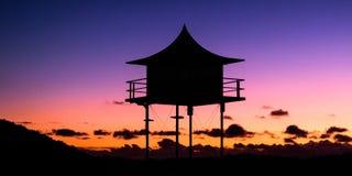 Semaphore Tower Royalty Free Stock Photo
