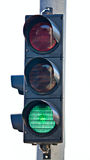 Semaphore traffic light Stock Images