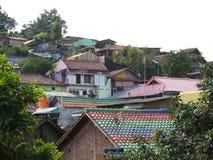 Rainbow Village in Semarang Royalty Free Stock Image