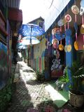 Rainbow Village in Semarang Stock Photography