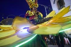Semarang Night Carnival 2017 Stock Photo