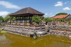 Semarapura, Bali/Indonesia - circa October 2015: Kertha Gosa Pavilion in Klungkung Palace,   Semarapura Royalty Free Stock Photography