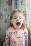 Semblez la petite fille adorable photographie stock libre de droits