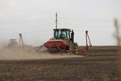 Sembradora del negocio agrícola Fotografía de archivo libre de regalías