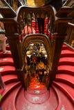 Sembrando Lello Bookstore interno, a Oporto, il Portogallo immagine stock