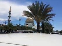 Sembulan-Moschee, Kota Kinabalu Sabah Stockbilder