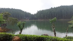 Sembuwatta jezioro, Elkaduwa nieruchomość, Sri Lanka fotografia stock