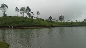 Sembuwatta jezioro, Elkaduwa nieruchomość, Sri Lanka obrazy royalty free