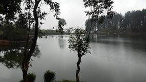 Sembuwatta Lake, Elkaduwa estate, Sri Lanka stock photo
