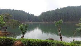 Sembuwatta Lake, Elkaduwa estate, Sri Lanka stock photography