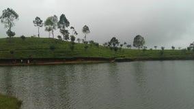 Sembuwatta Lake, Elkaduwa estate, Sri Lanka royalty free stock images