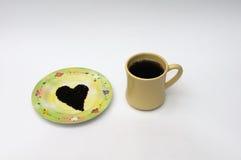 Seme del tè nero Immagine Stock