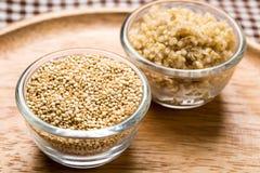 Seme della quinoa fotografia stock libera da diritti