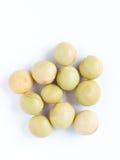 Seme verde giapponese del fagiolo della soia Fotografia Stock