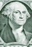 Semelhança de George Washington em uma conta de dólar foto de stock royalty free