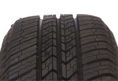 Semelle 6 de pneu Photographie stock